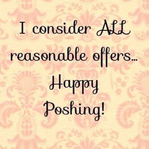 Remember Poshmark takes 20% of each sale